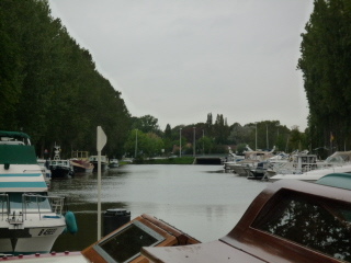 Our mooring at Flandria Yachthaven, Brugge