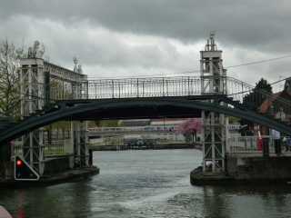 Historic bridges and locks