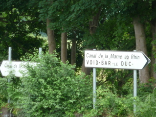 Junction with Marne au Rhin