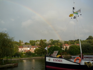 Rainbow at Geraardsbergen