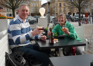 A beer in Ypres