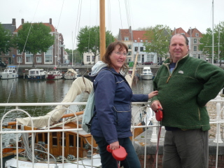 At Middelburg with Carol and Dave