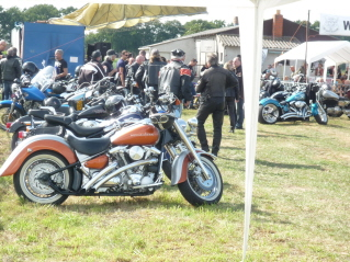 Bikers rally near Kinrooi