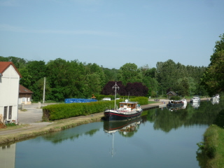 Mooring at Langres
