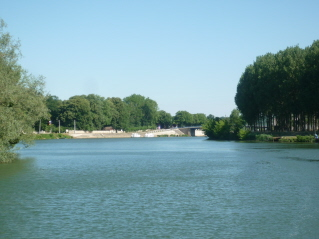 Big river Saone