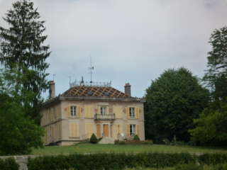 Typical Burgundy mansion