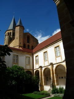 Cloisters, Paray le Monial