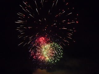 Great fireworks display