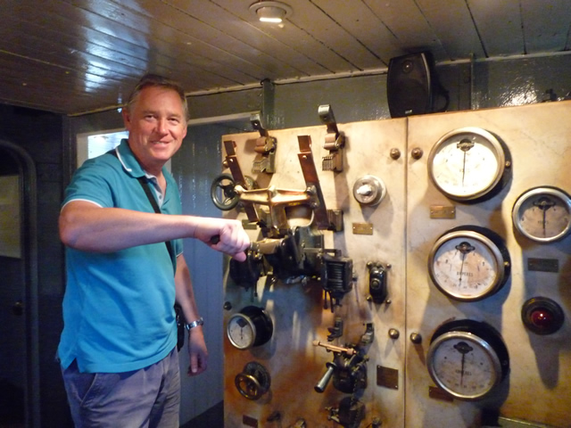 In the tug museum