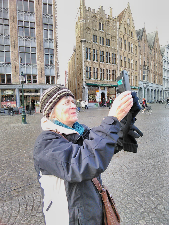 More sightseeing  for Grethe