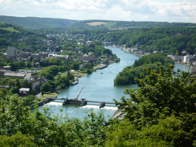 The Meuse from the citadelle