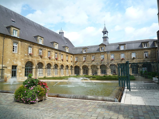 Convent at Mouzon, now home for the elderly