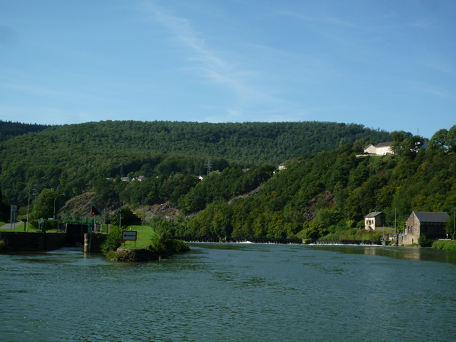 Meuse valley near Revin