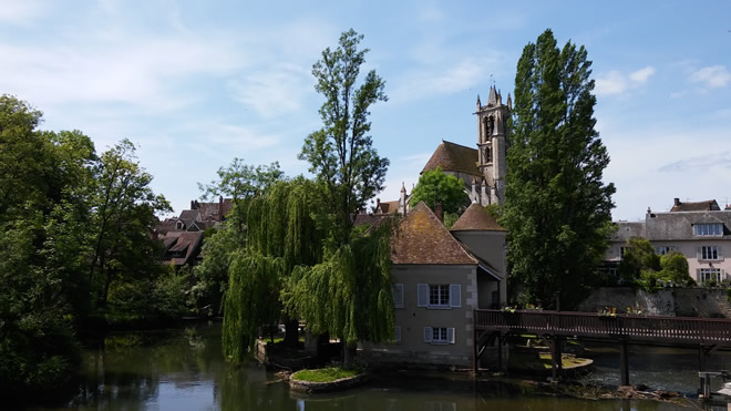 The mill at Moret sur Loing