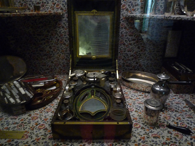 Napoleon's shaving kit