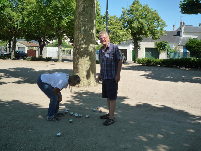 Boules with Pam and Rob