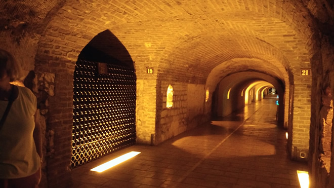 Moet et Chandon cellars