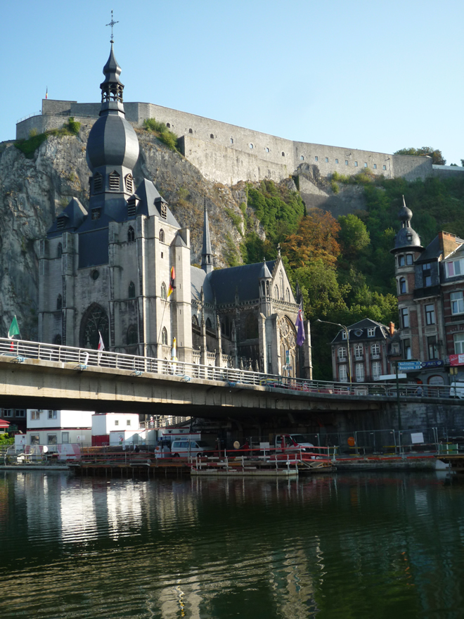 Saxophone bridge, Dinant